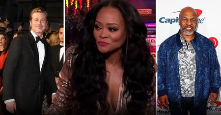 Metro Robin Givens respondes to Mike Tyson 'catching her in bed' with Brad Pitt